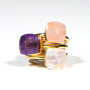 Ring - Naked Amethyst