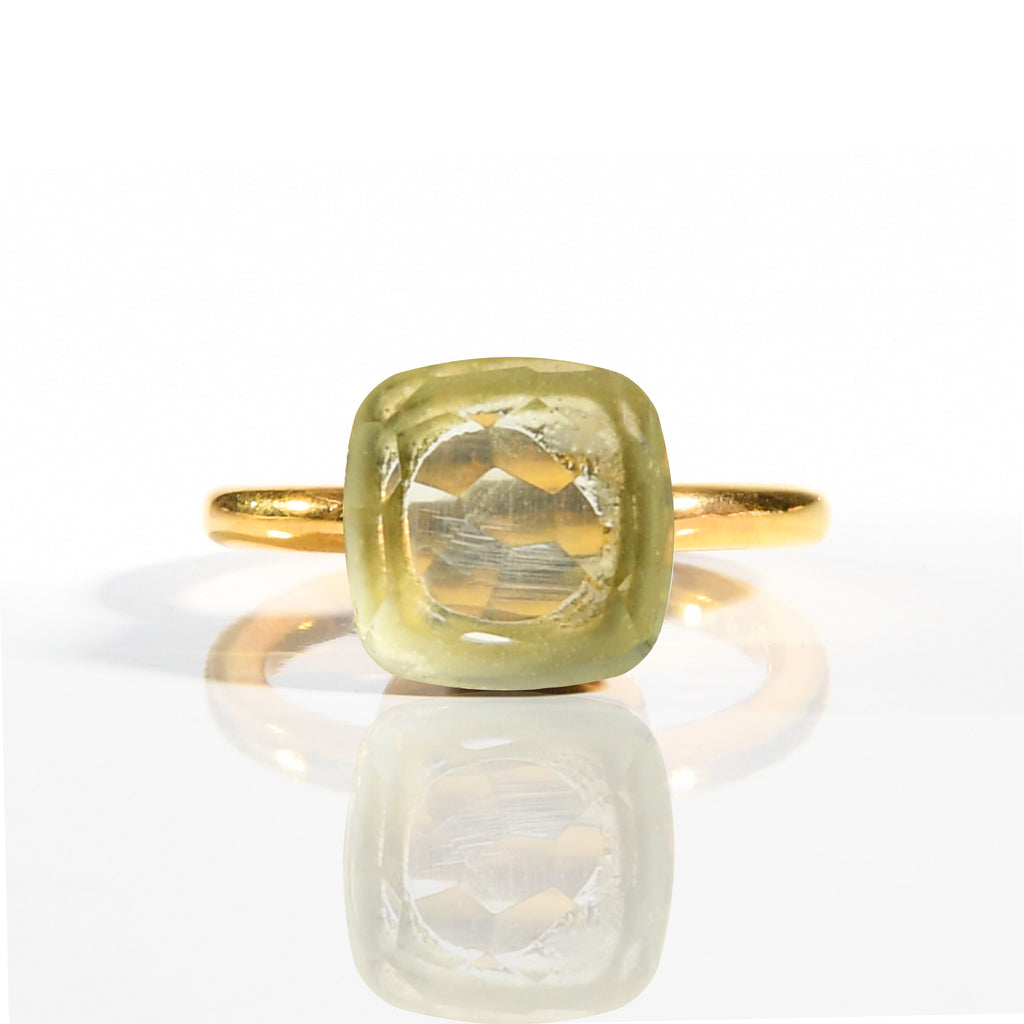Ring - Naked Prasiolite