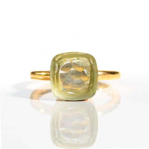 Ring - Naked 2 in Prasiolite