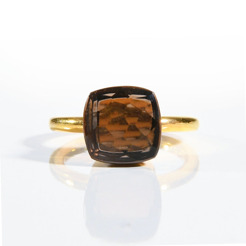 Ring - Naked Smoky Quartz