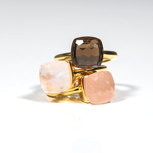 Ring - Naked Rose Quartz