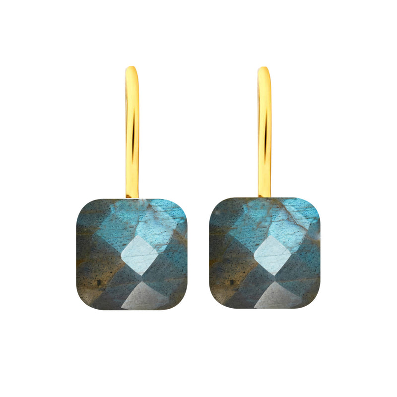 Earrings - Naked 2 in Labradorite