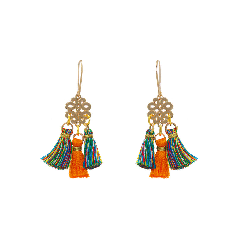 Earrings - Mini Tassel - Oh Happy Day