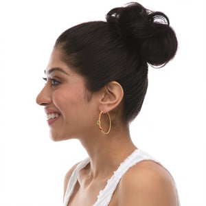 Earrings - Solitude - Large Hoops