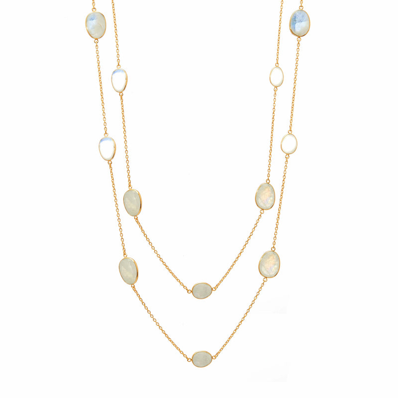 Necklace - Moonstone Station