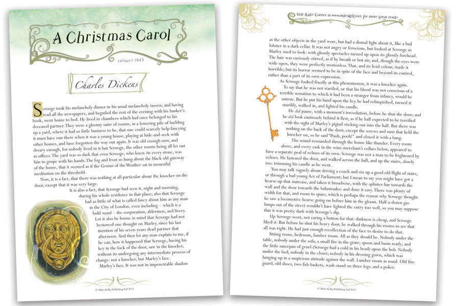 Read! A Christmas Carol by Charles Dickens