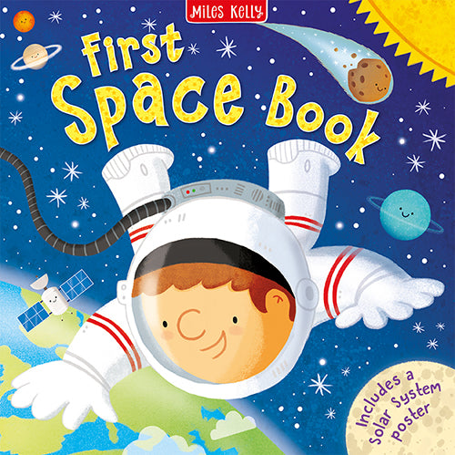 Let your child's scientific mind take off with First Space Book!