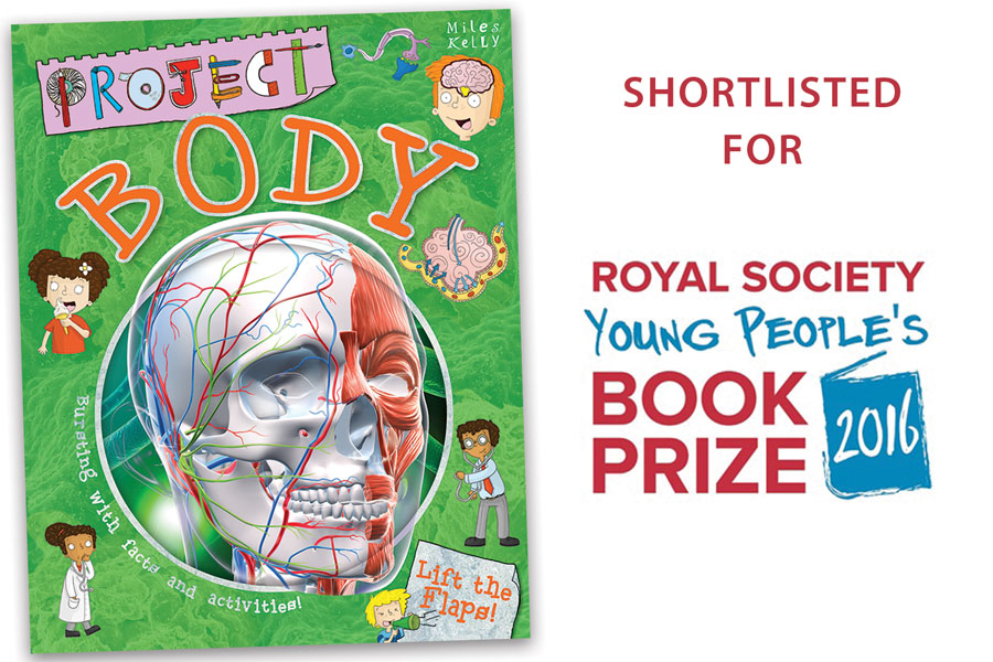 Project Body shortlisted for Young People's Prize