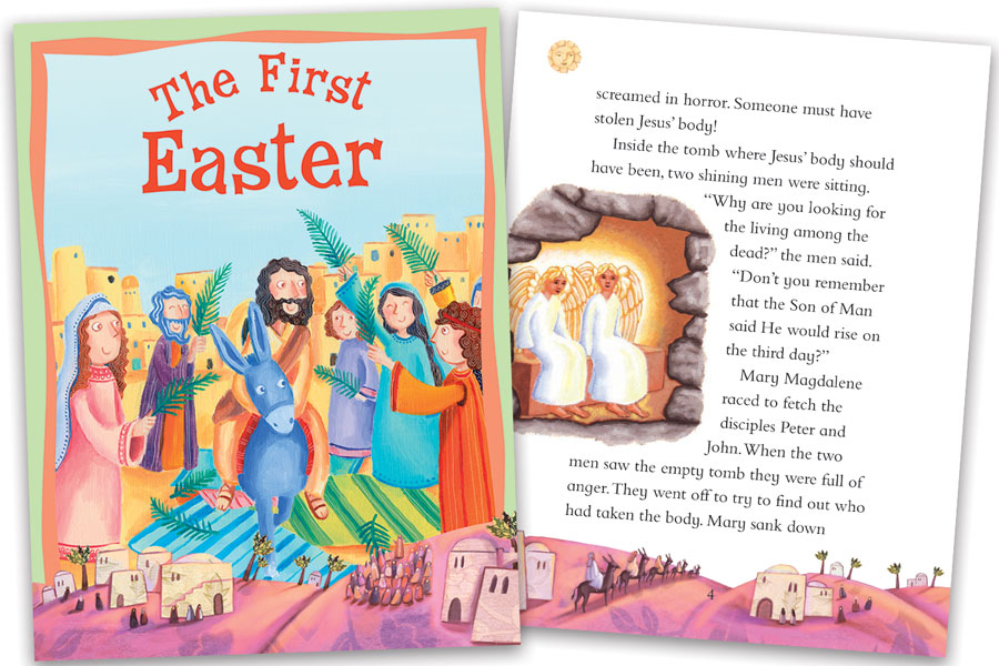 free download of the first easter story for kids miles kelly
