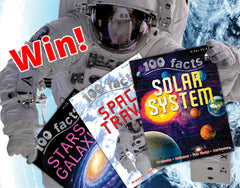 Win great space books – 100 facts – Miles Kelly