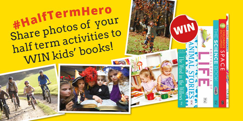 #HalfTermHero competition to win children's books