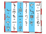 Write your name in hieroglyphs – Miles Kelly