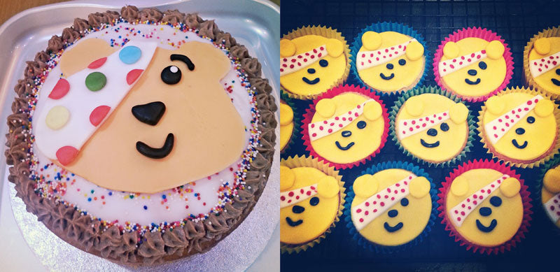 Children in Need Pudsey bear cakes – Miles Kelly