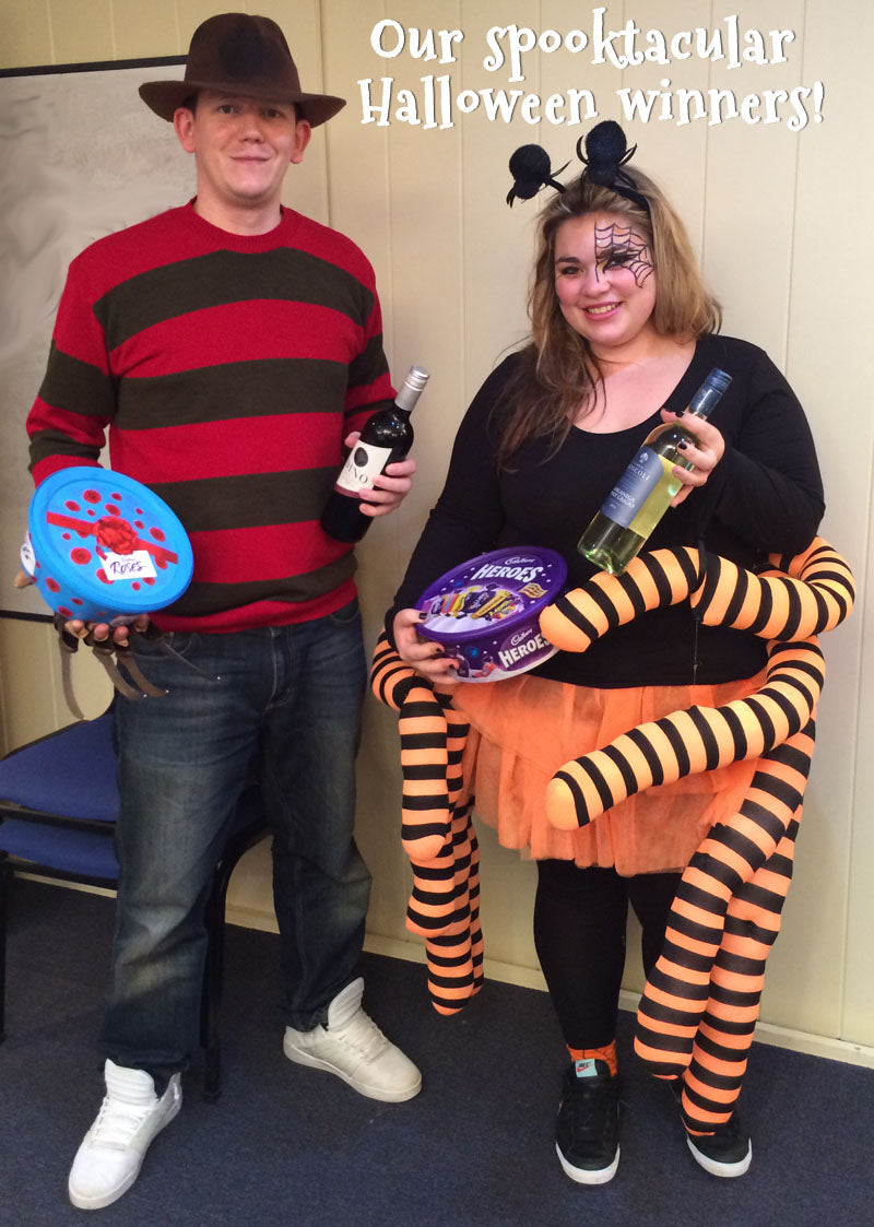 Halloween costume and food winners at Miles Kelly