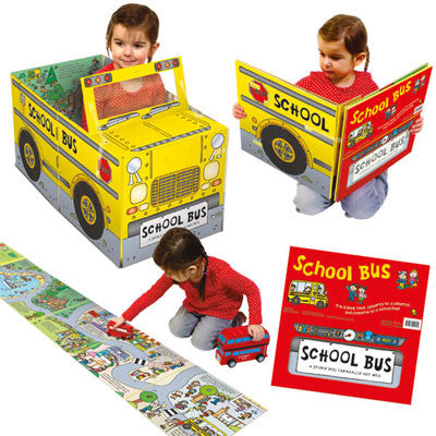 Convertible School Bus - Miles Kelly  - 1