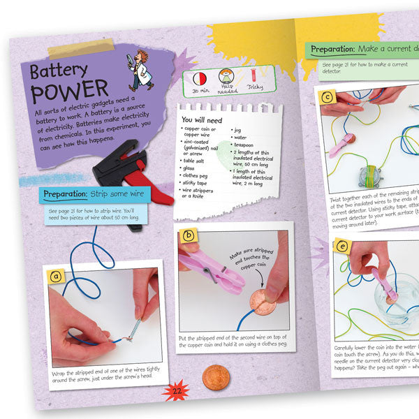 Simple Science Experiments Electricity and Magnets