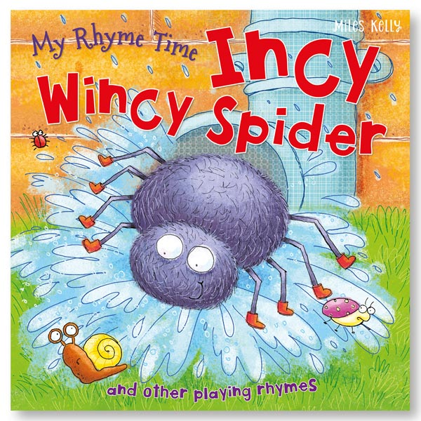 My Rhyme Time Incy Wincy Spider and other playing rhymes