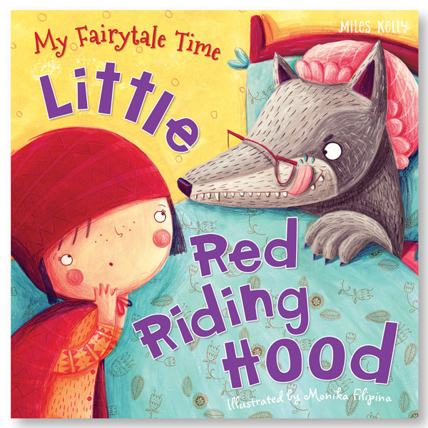 My Fairytale Time Little Red Riding Hood Book Miles Kelly