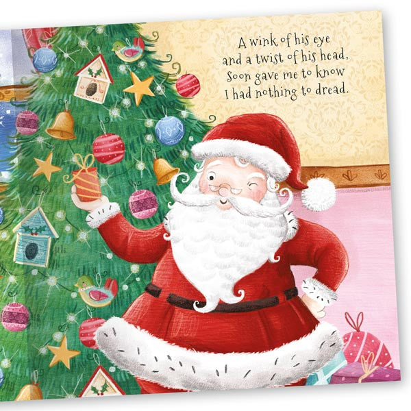 Christmas Time The Night Before Christmas Giant hardback