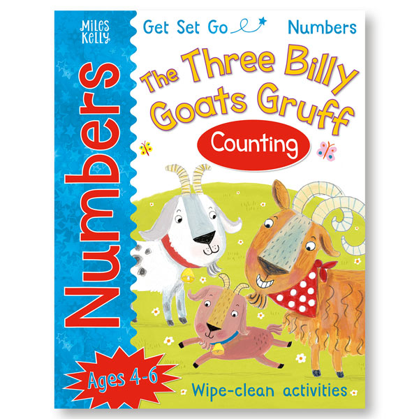 Get Set Go Numbers: The Three Billy Goats Gruff (Counting)