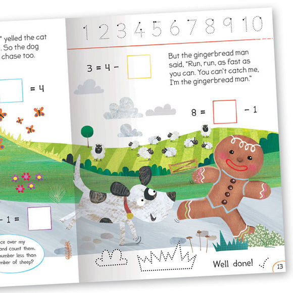 Get Set Go Numbers: The Gingerbread Man – Equals