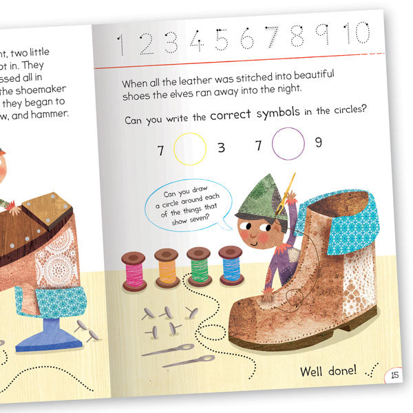Get Set Go Numbers: The Elves and the Shoemaker – Numbers 1–10
