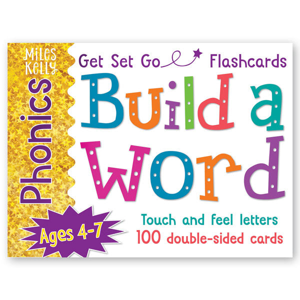 Get Set Go Phonics Flashcards: Build a Word