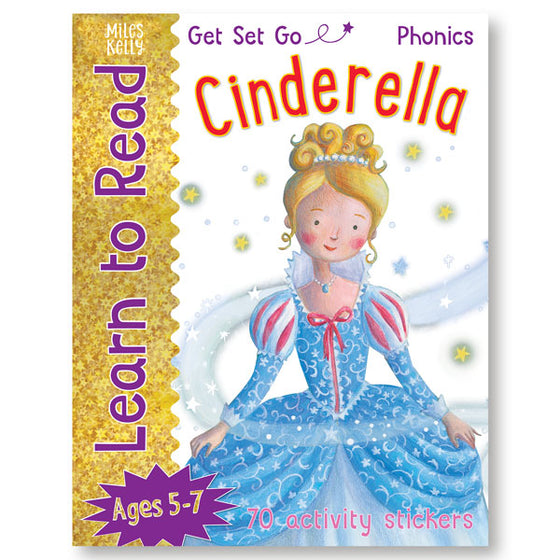 Get Set Go Learn to Read: Cinderella