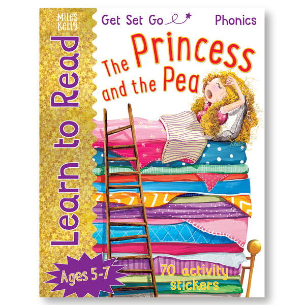 Get Set Go Learn to Read: The Princess and the Pea