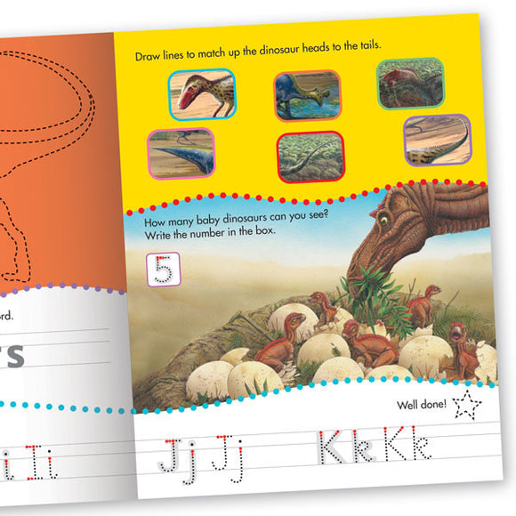 Get Set Go Writing: Dinosaurs