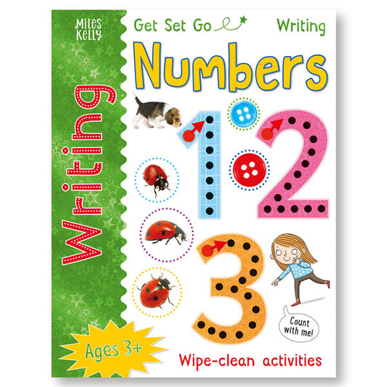 Get Set Go Writing: Numbers