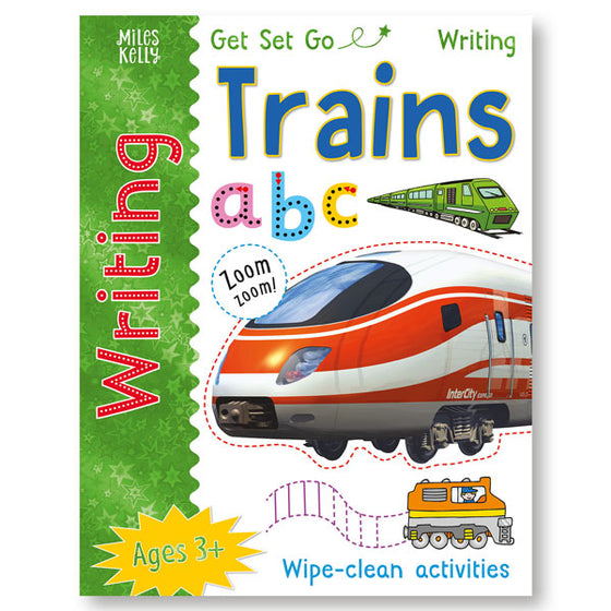 Get Set Go Writing: Trains