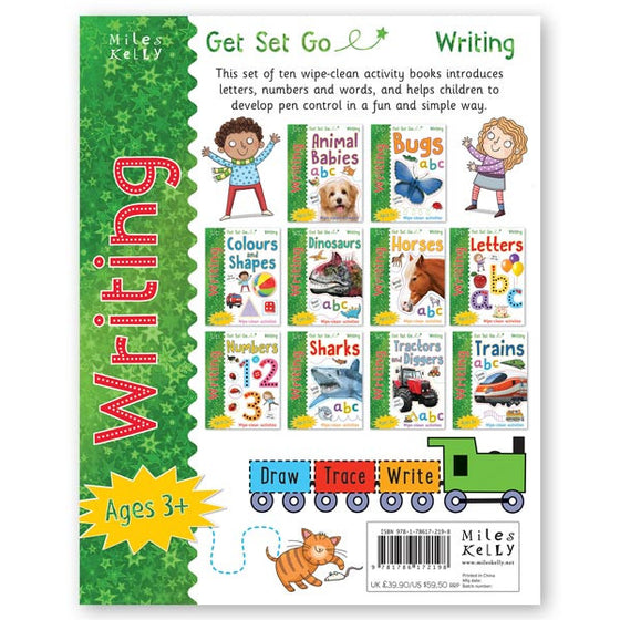 Get Set Go Writing: 10-book set