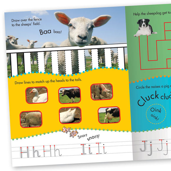 Get Set Go Practice Book: Animal Friends