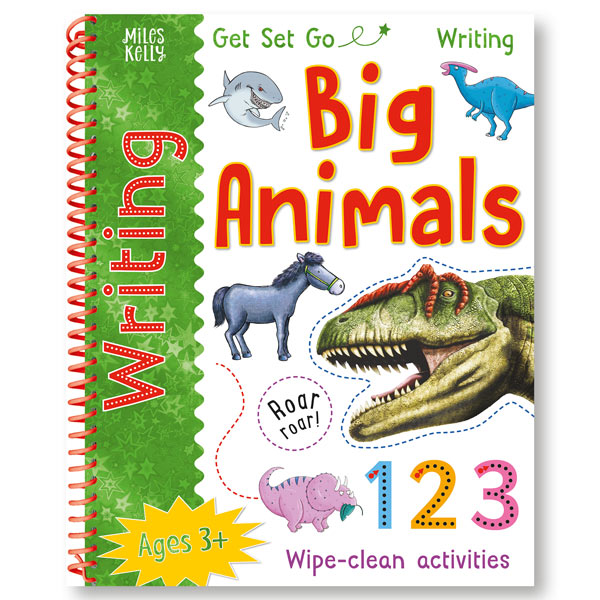 Get Set Go Writing: Big Animals