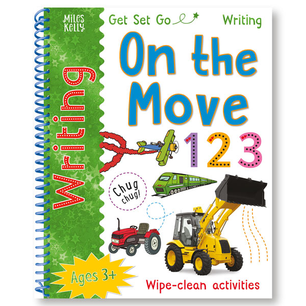 Get Set Go Writing: On the Move