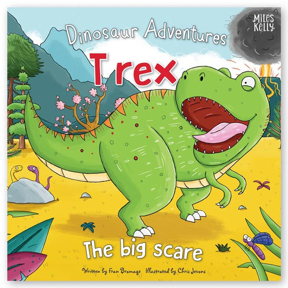Dinosaur Adventures: T rex – The big scare