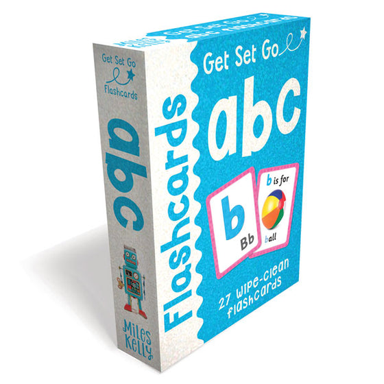 Get Set Go Flashcards: ABC
