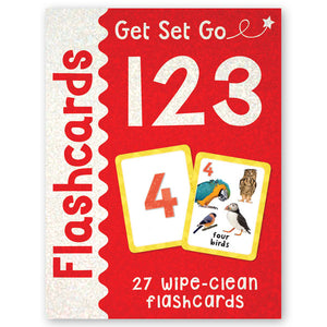 Get Set Go Flashcards: 123