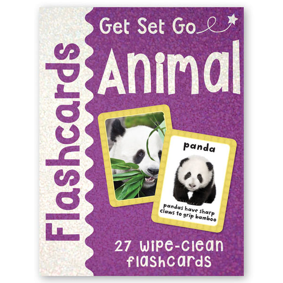 Get Set Go Flashcards: Animals