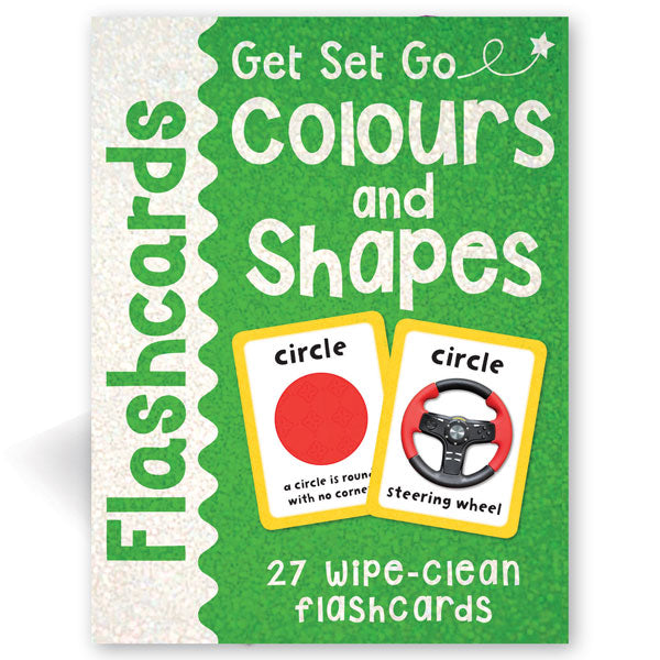 Get Set Go Flashcards: Colours and Shapes