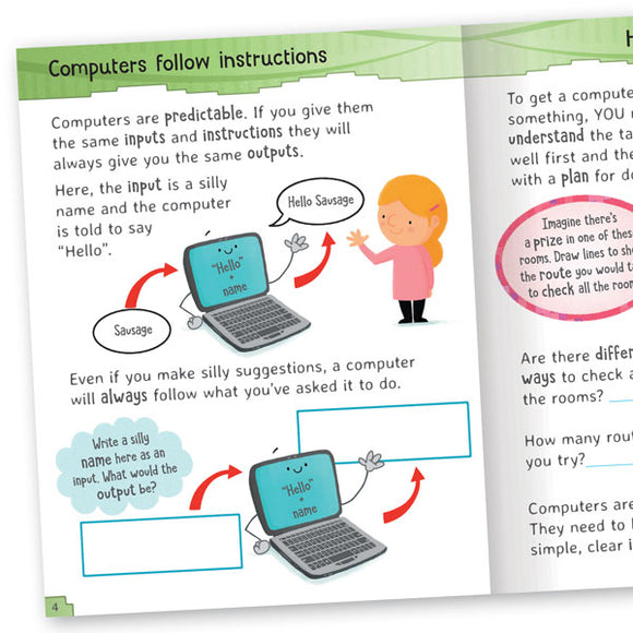 Get Set Go Computing: 4-book set