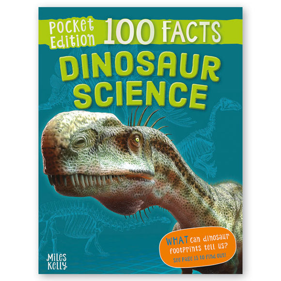Pocket Edition 100 Facts Dinosaur Science