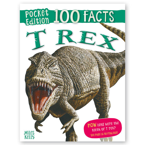 Pocket Edition 100 Facts T Rex