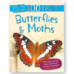 Pocket Edition 100 Facts Butterflies and Moths