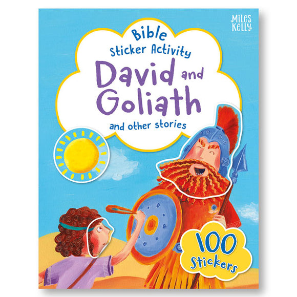 Bible Sticker Activity: David and Goliath