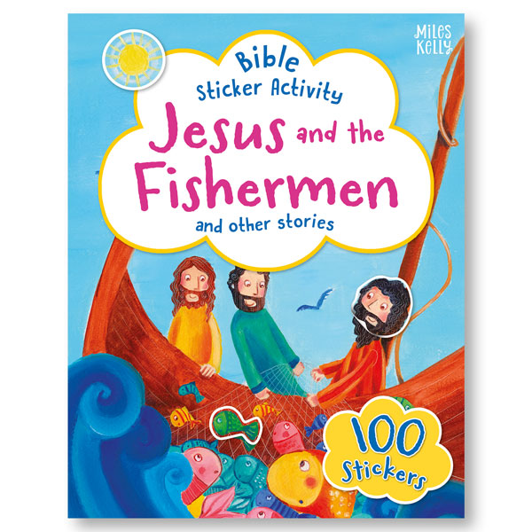 Bible Sticker Activity: Jesus and the Fishermen