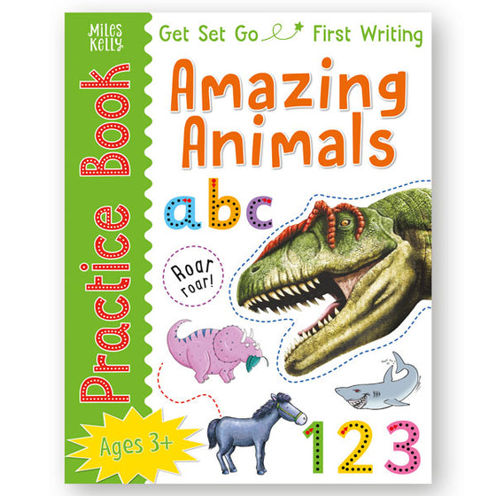 Get Set Go Practice Book: Amazing Animals