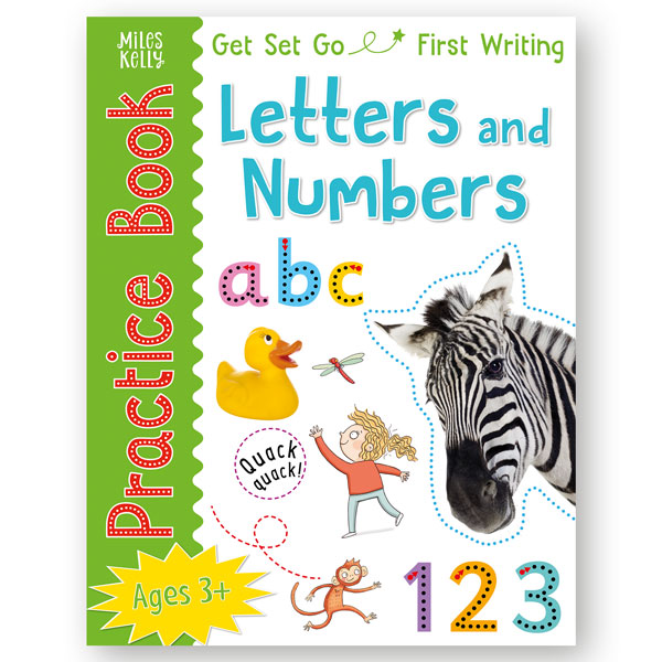 Get Set Go Practice Book: Letters and Numbers