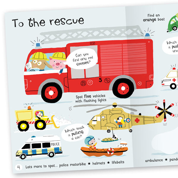 Lots to Spot: On the Go! Sticker Book